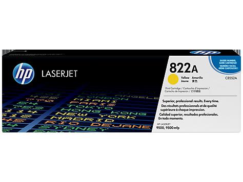 HP 822A LaserJet-Originaltonerpatrone, gelb