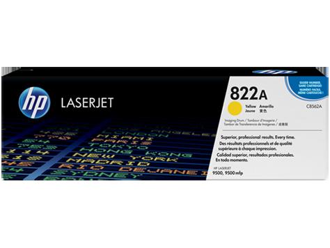 Bęben obrazowy z żółtym tonerem HP 822A LaserJet