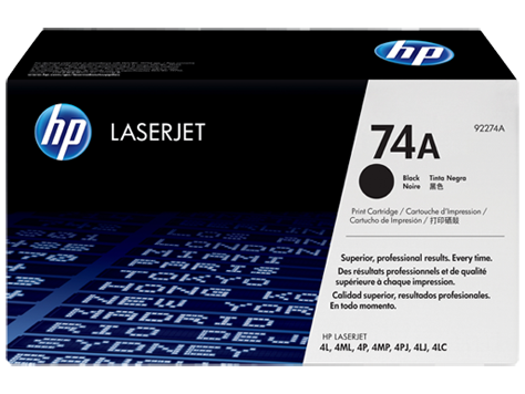 HP 74 LaserJet Toner Cartridges