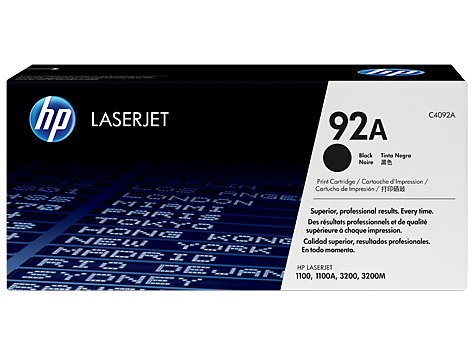 HP 92 LaserJet Toner Cartridges