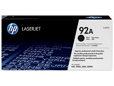 Картриджи HP 92 LaserJet с тонером