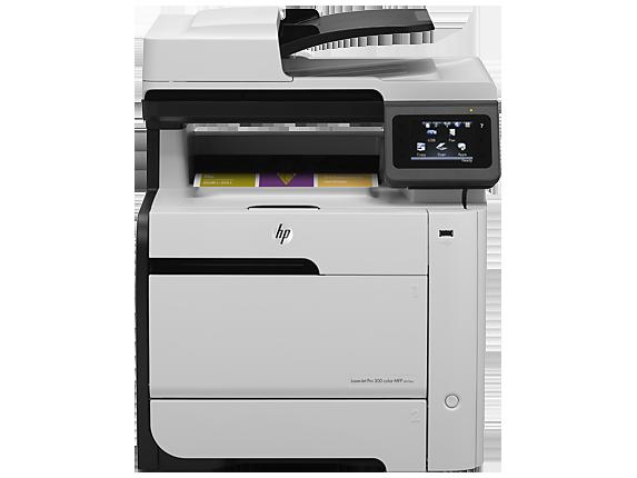 HP LaserJet Pro 300 color MFP M375nw - Center