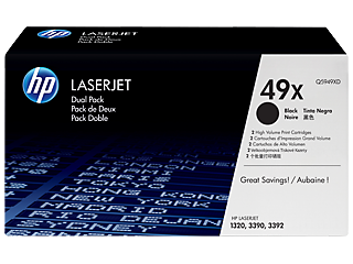 HP 49 Toner Cartridges