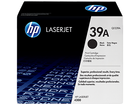 HP 39 LaserJet Toner Cartridges