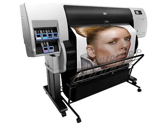 HP Designjet T7100 Printer with Encrypted Hard Disk