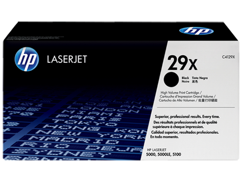 HP 29 LaserJet Toner Cartridges