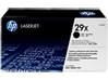 HP 29X High Yield Black Original LaserJet Toner Cartridge, C4129X - Center