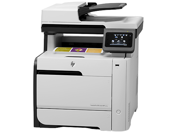 Hp laserjet pro 300 color mfp m375nw hp official store for Best home office mfp