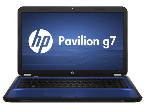 Notebook HP Pavilion serie g7-1300