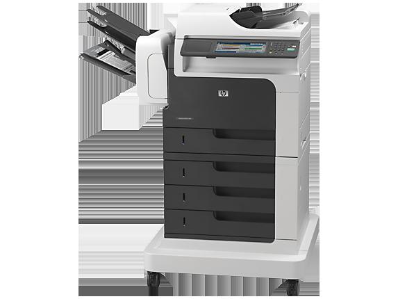 HP LaserJet Enterprise M4555fskm MFP - Left