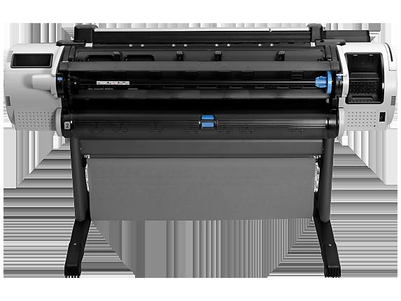 HP Designjet T2300 PostScript eMultifunction Printer with Encrypted Hard Disk