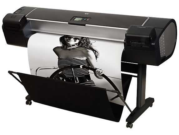 HP DesignJet Z5200 44-in Photo Printer - Left