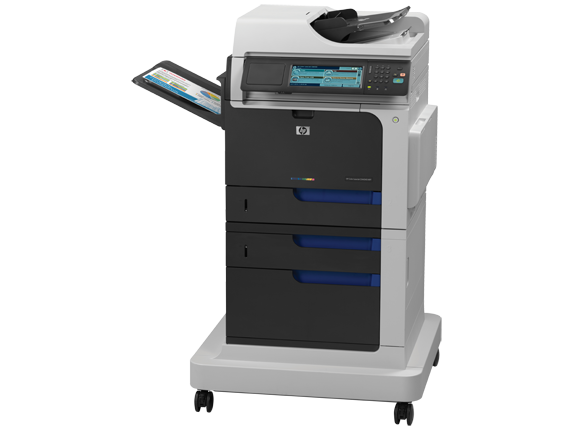HP Color LaserJet Enterprise CM4540f MFP - Left