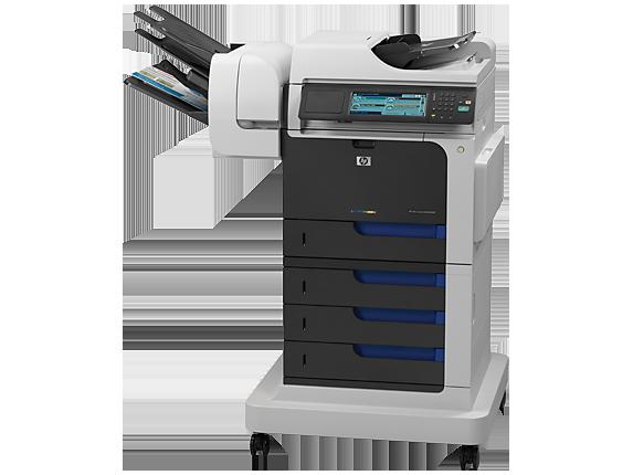 HP Color LaserJet Enterprise CM4540fskm MFP - Left