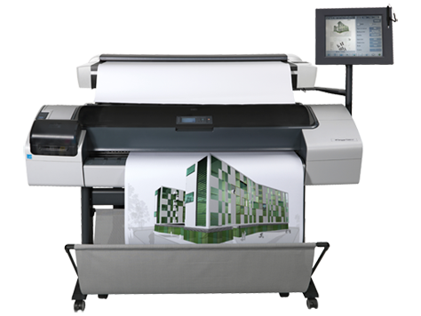 HP Designjet T1200 HD-Multifunktionsdrucker