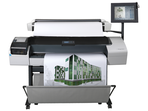 HP Designjet T1200 HD Multifunction Printer