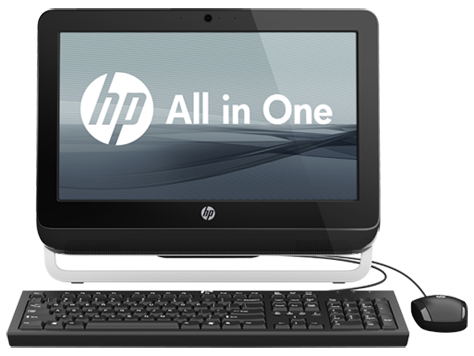 HP 1105 All-in-One desktop-pc