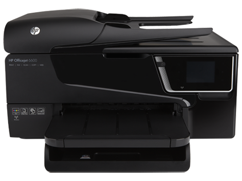 סדרת מדפסות HP Officejet 6600 e-All-in-One -‏ H711
