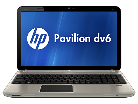 HP Pavilion dv6-6000 Quad Edition Entertainment Notebook serie