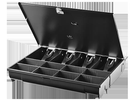 Registratore di cassa standard HP con coperchio bloccabile