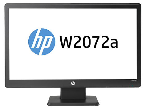 HP W2072a 20-inch Diagonal LED Backlit LCD Monitor Troubleshooting