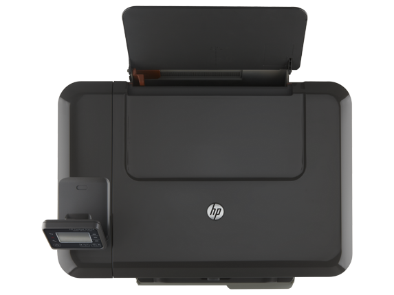 HP Deskjet 3052A e-All-in-One Printer - J611g - Top view closed