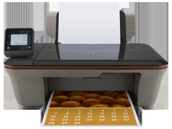 HP Deskjet 3052A e-All-in-One Printer - J611g - Center