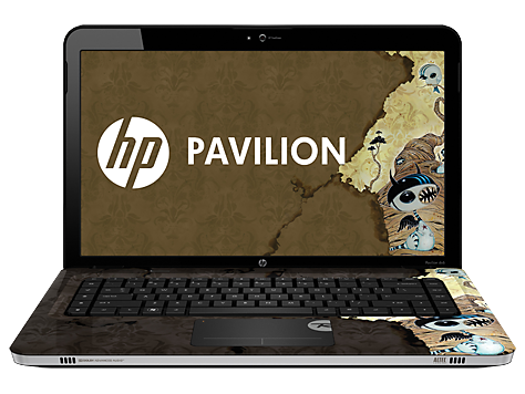 סדרת מחשבים ניידים HP Pavilion dv6-3200 Rossignol Edition Entertainment