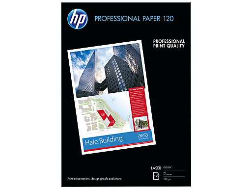HP 專業光面鐳射打印紙 120 gsm - 250 張/A3/297 x 420 mm