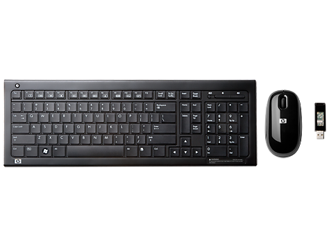 HP Wireless Elite Desktop Keyboard and Mouse