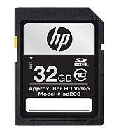 HP sd200 SDHC High Speed Card