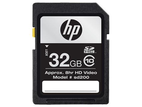 HP sd200 SDHC High Speed Card