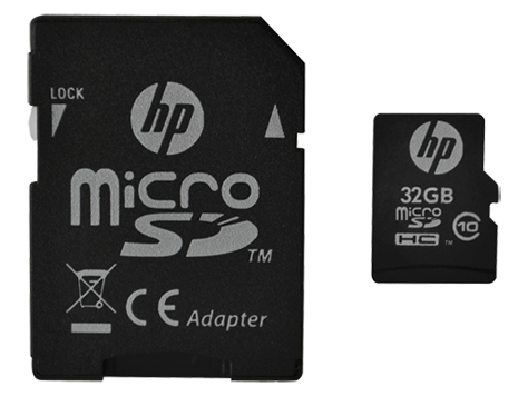 HP mi200 MicroSD High Speed Card