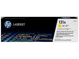 HP 131A Yellow Original LaserJet Toner Cartridge, CF212A