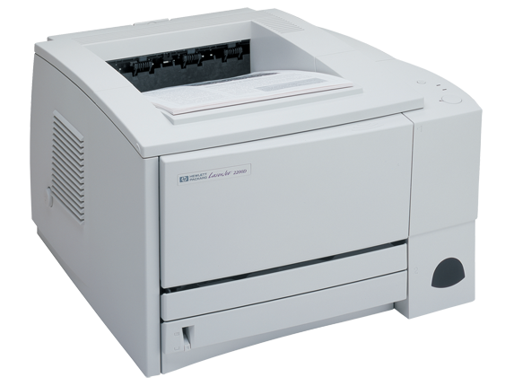 HP LaserJet 2200 Printer - Right