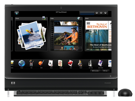 hp touchsmart 520 pc audio drivers