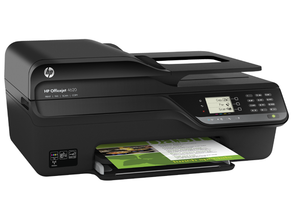 HP Officejet 4620 e-All-in-One Printer - Right