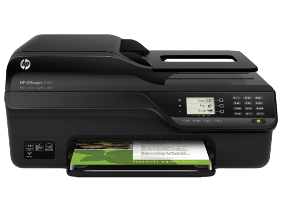 HP Officejet 4620 e-All-in-One Printer - Center
