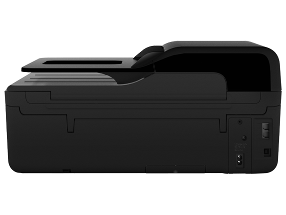 HP Officejet 4620 e-All-in-One Printer - Rear