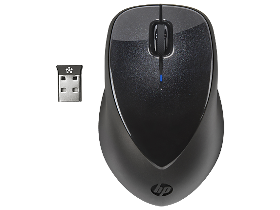 HP x4000 Wireless Mouse with Laser Sensor - Center