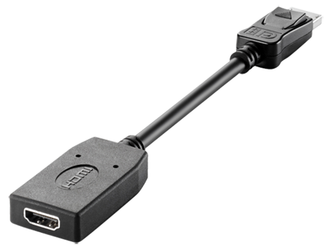 HP DisplayPort til HDMI-adapter
