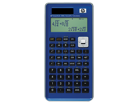 Calculatrice HP SmartCalcs 300s