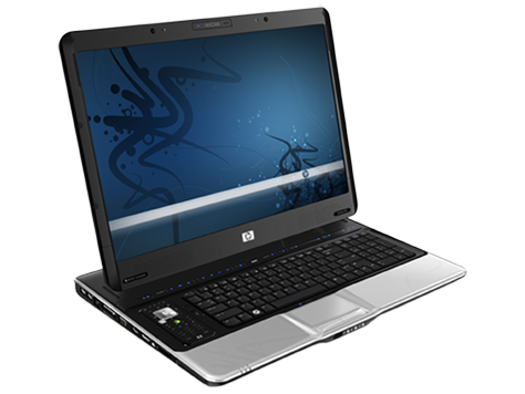 HP Pavilion HDX9200 Entertainment Notebook-PC-Serie