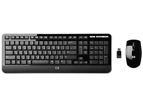 HP Wireless Keyboard with Mouse