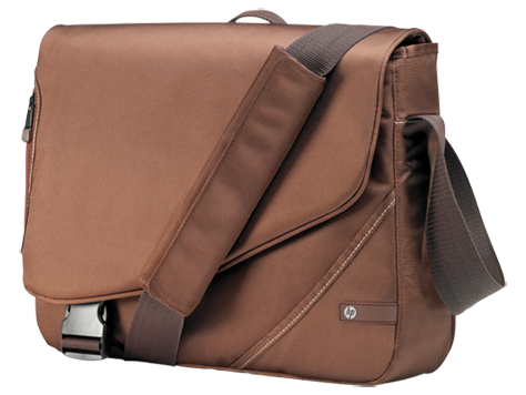 HP Brown Notebook Messenger