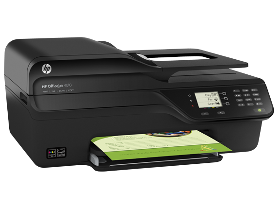 HP Officejet 4610 All-in-One Printer - Right