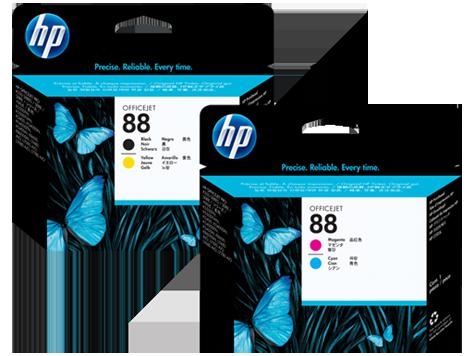 Cabezales de impresión HP 88