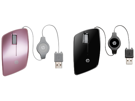 Mouse mobile retrattile HP