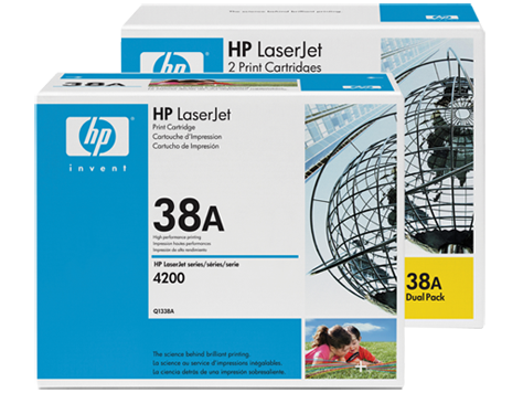 HP 38 LaserJet Toner Cartridges