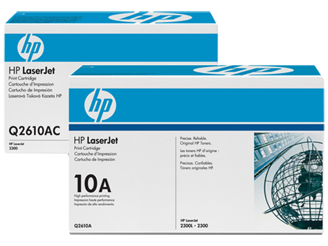 HP 10 LaserJet Toner Cartridges